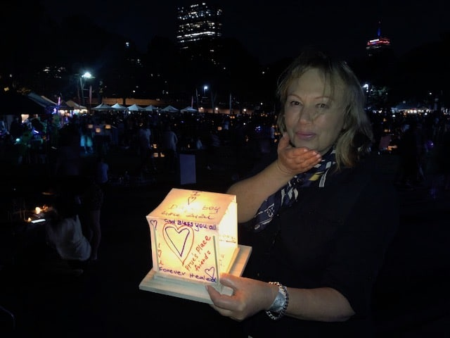Cancer Self-help – Boston Water Lantern Festival